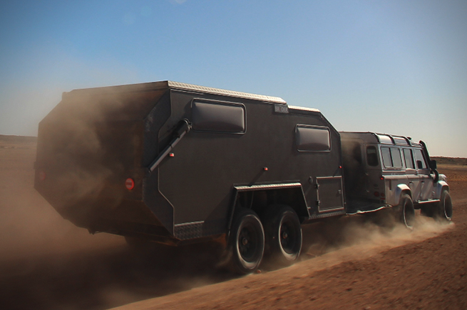 small travel trailers - desert