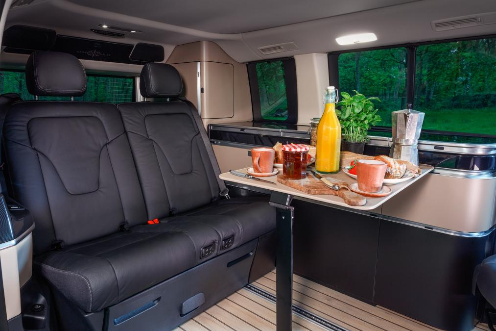 small campers - mercedes westfalia
