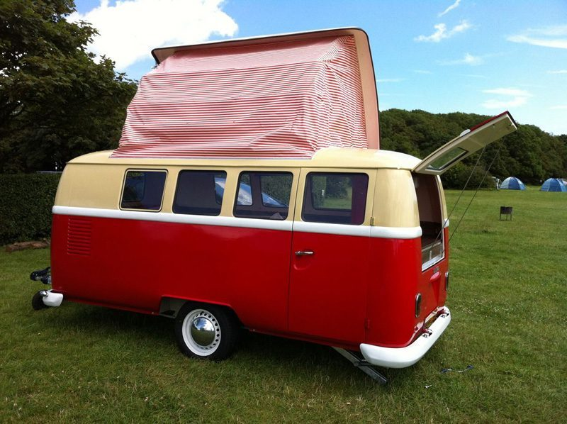 small travel trailers - dinky dub pop top