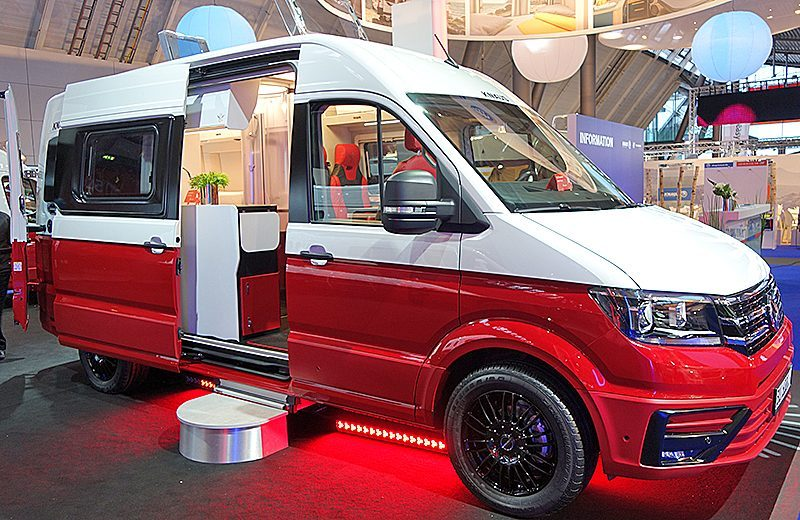 Best van to live in - Boxdrive CUV