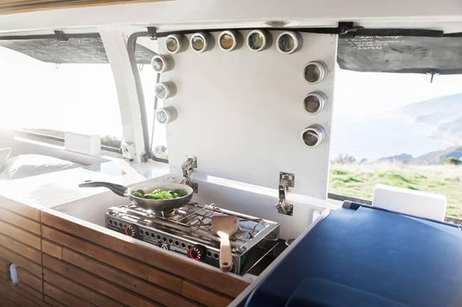Studio Cargo Van Conversion