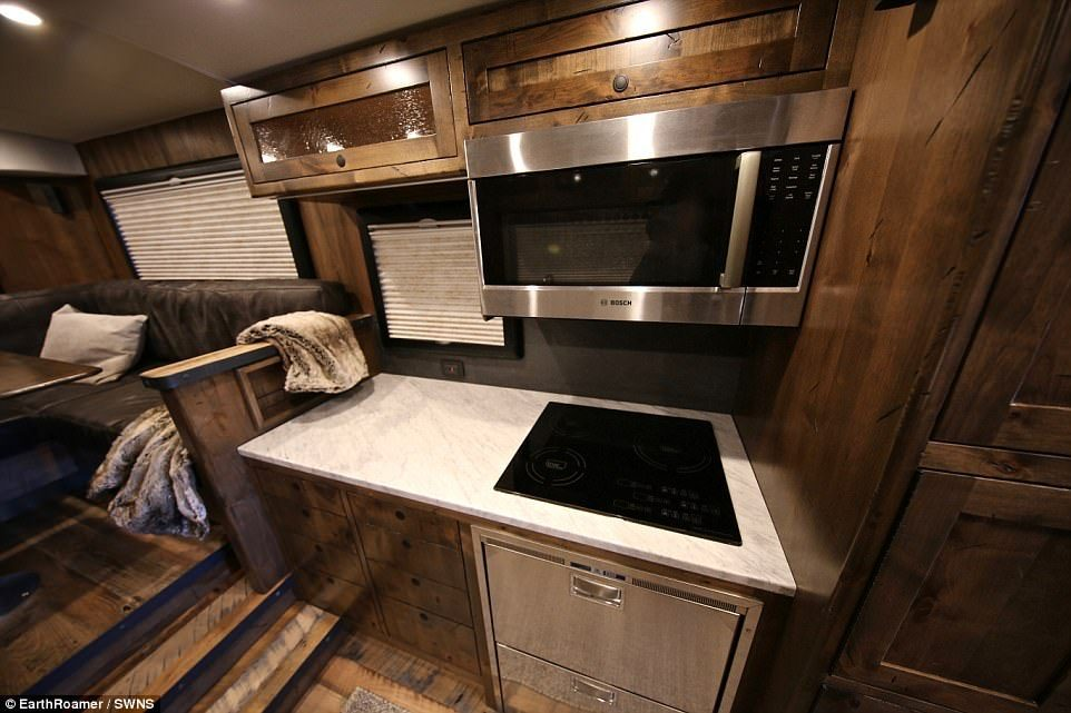 EarthRoamer - Kitchen Pic
