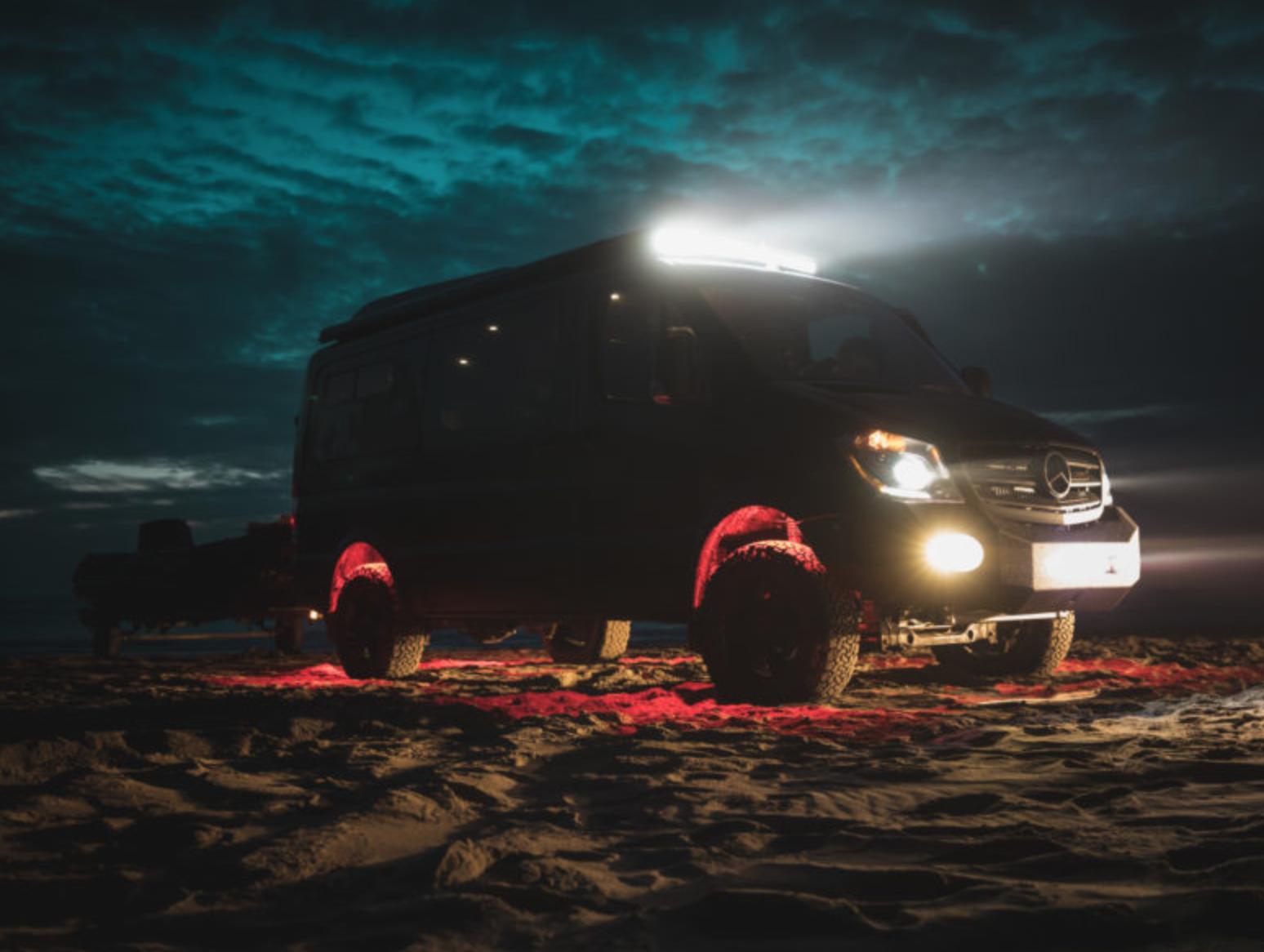 Mercedes Sprinter Conversions - Darkstar night