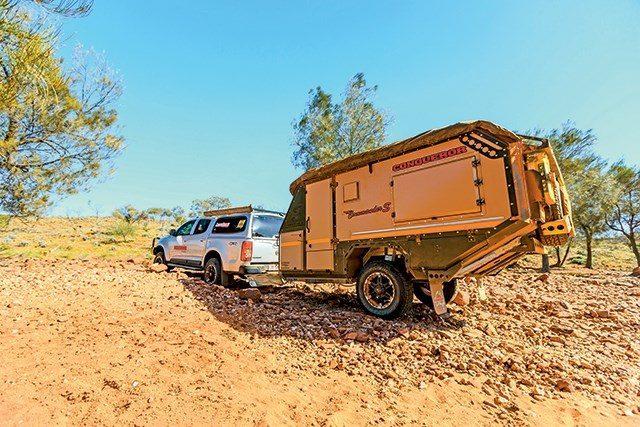 small travel trailers - conqueror overland back