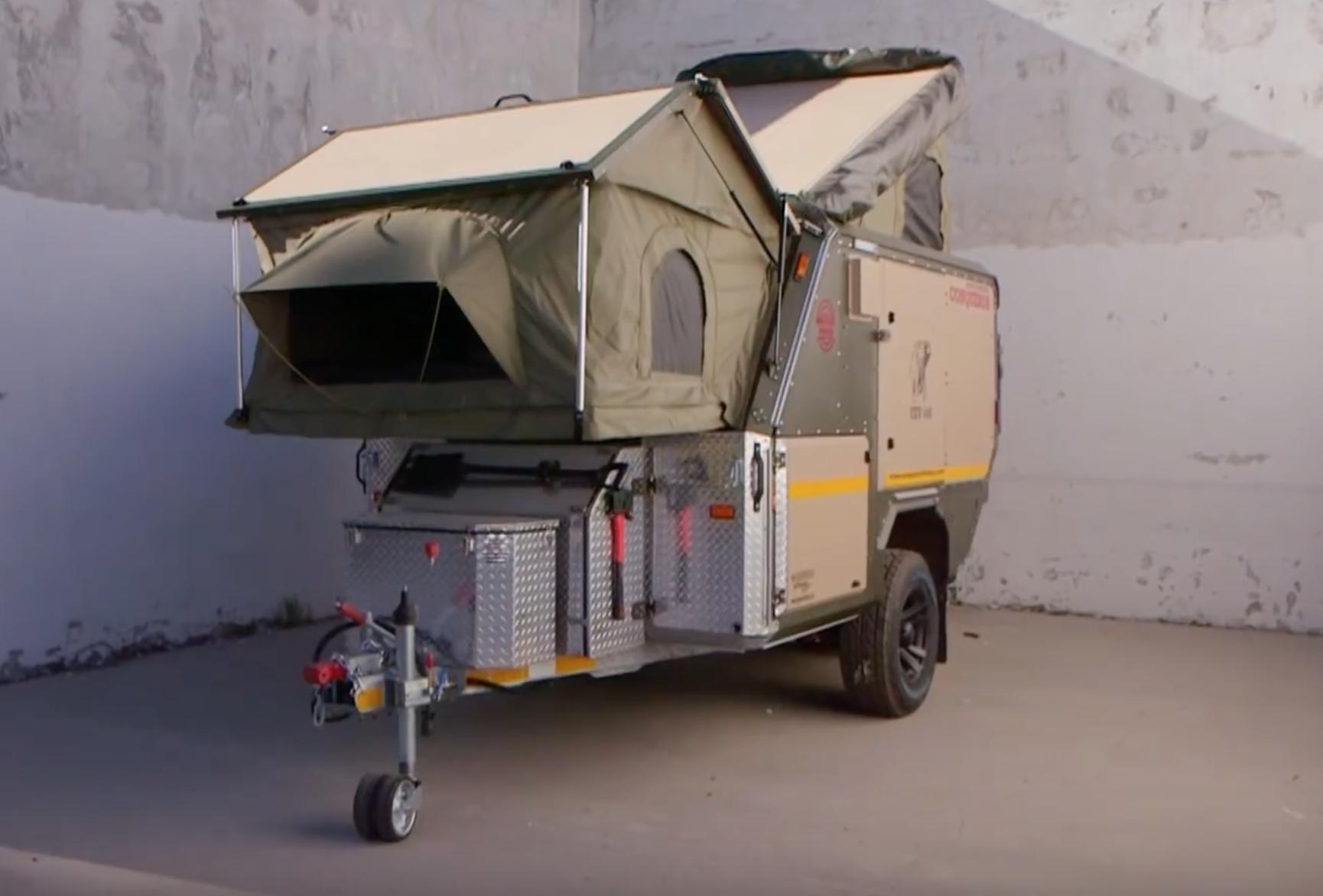 small travel trailers - conqueror overland