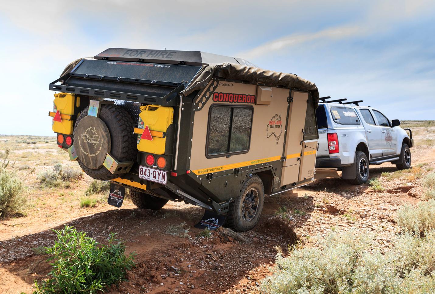 small travel trailers - conqueror overland drive