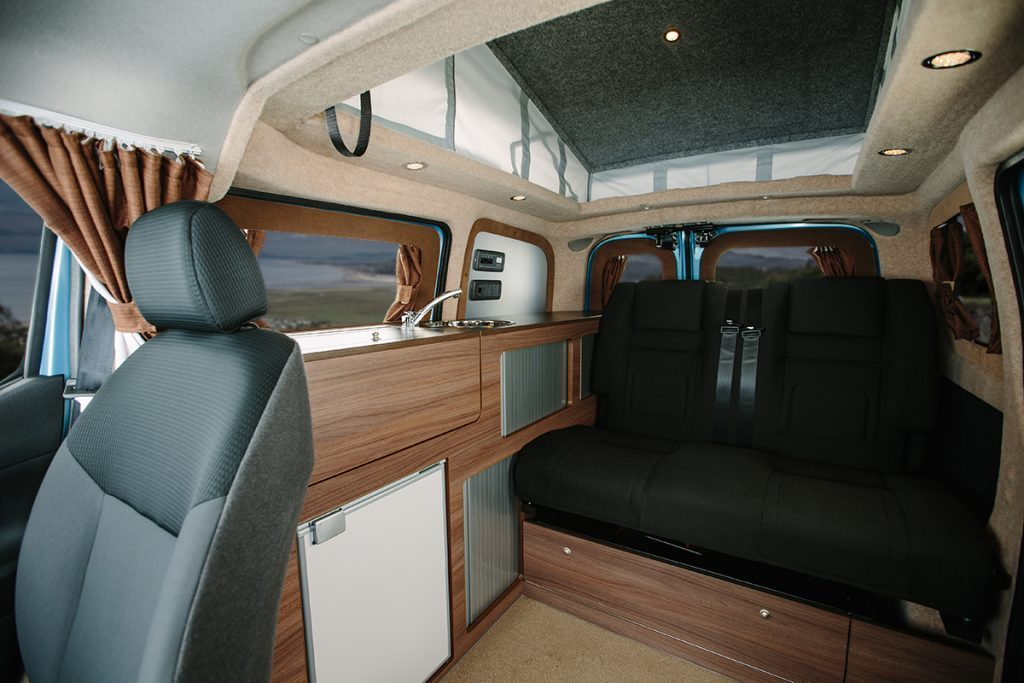 Top Eco Campers - Dalbury Inside
