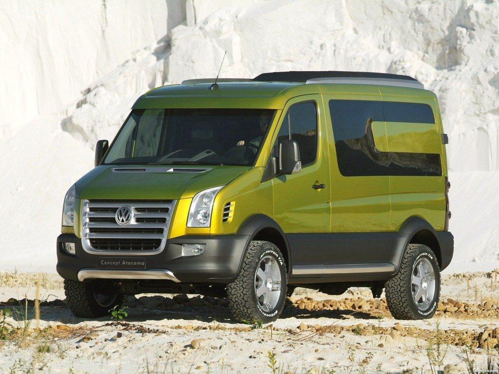 Best van to live in - VW Crafter