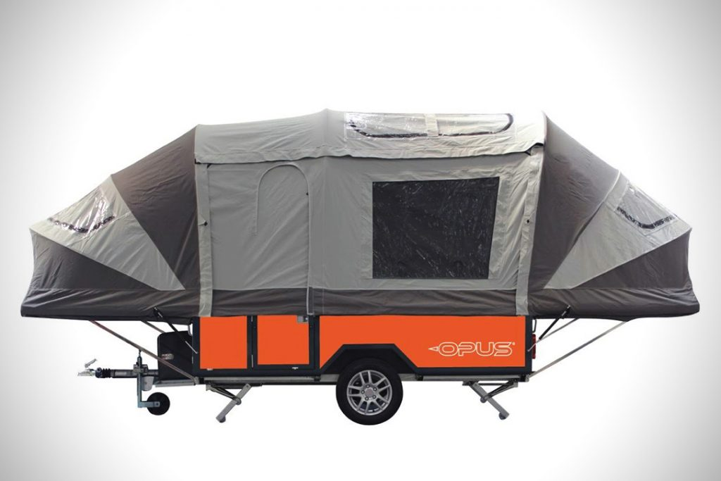 Pop Up Campers - opus front