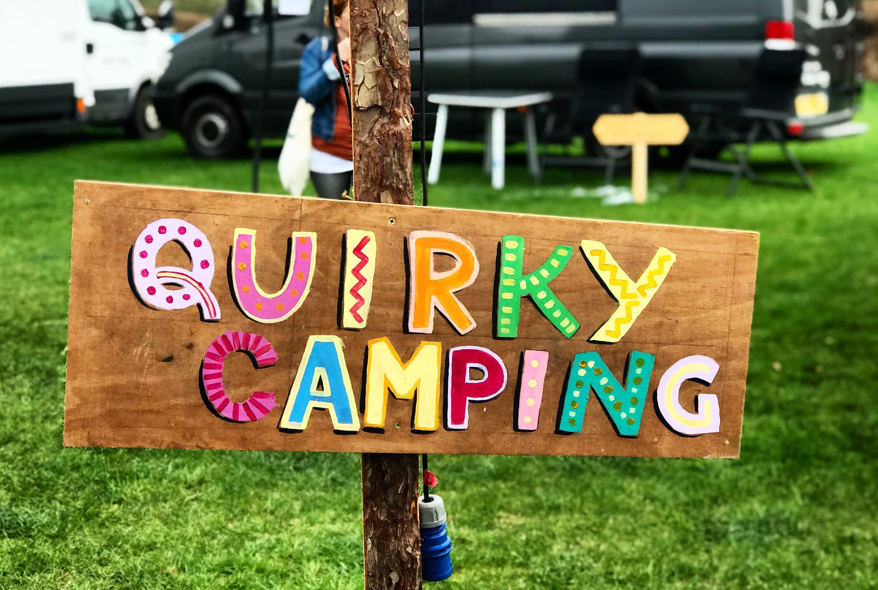 Camp Quirky - Quirky Sign