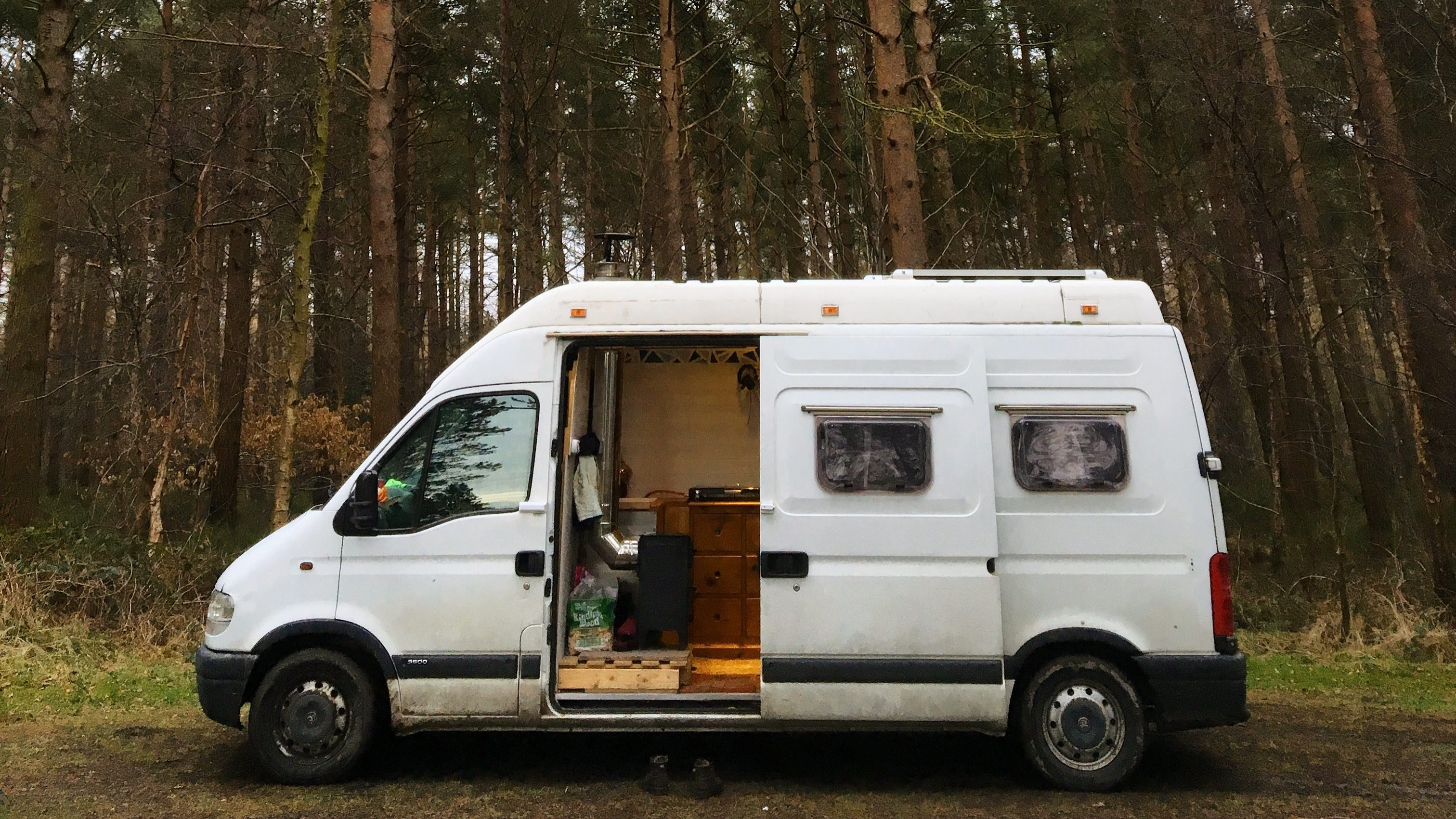 Living In A Van - Forest