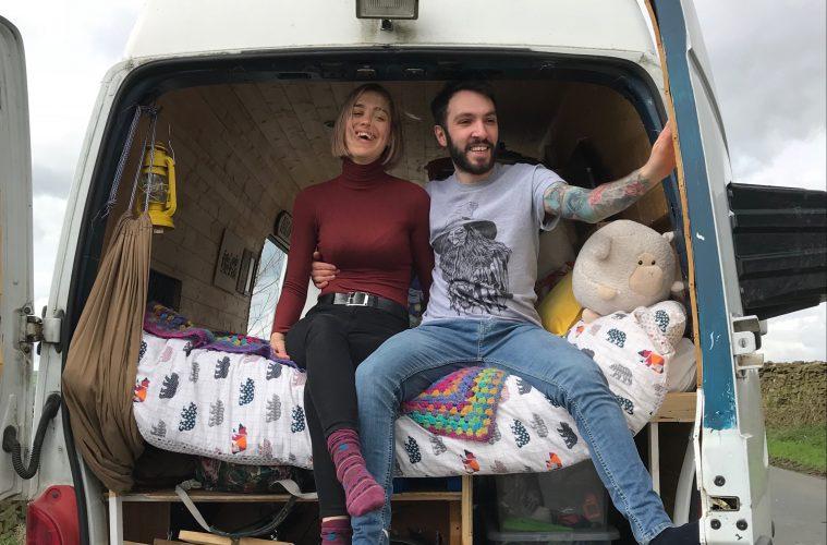 UK Van Life - Rose & Seb