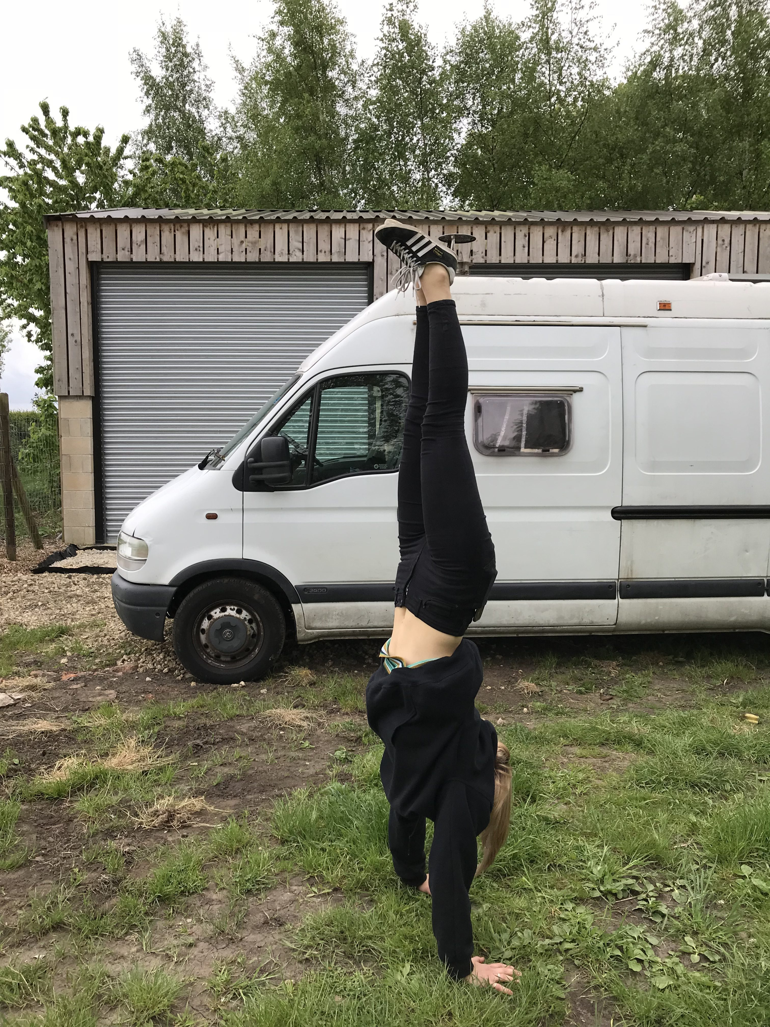 Living In A Van - Handstand