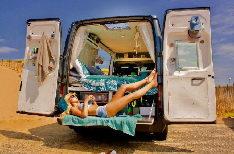 Best van to live in - Ford Transit