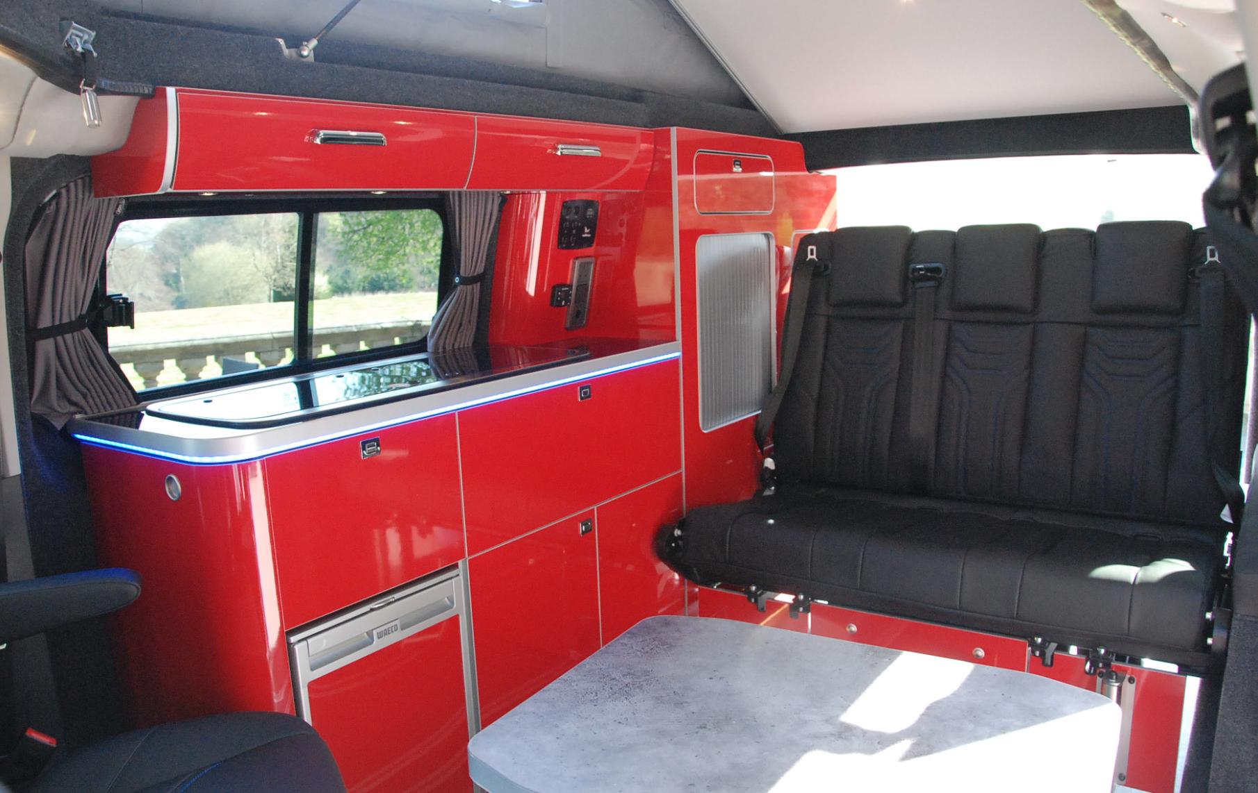 Best Camper Vans - Ford Terrier M Sport Camper Interior