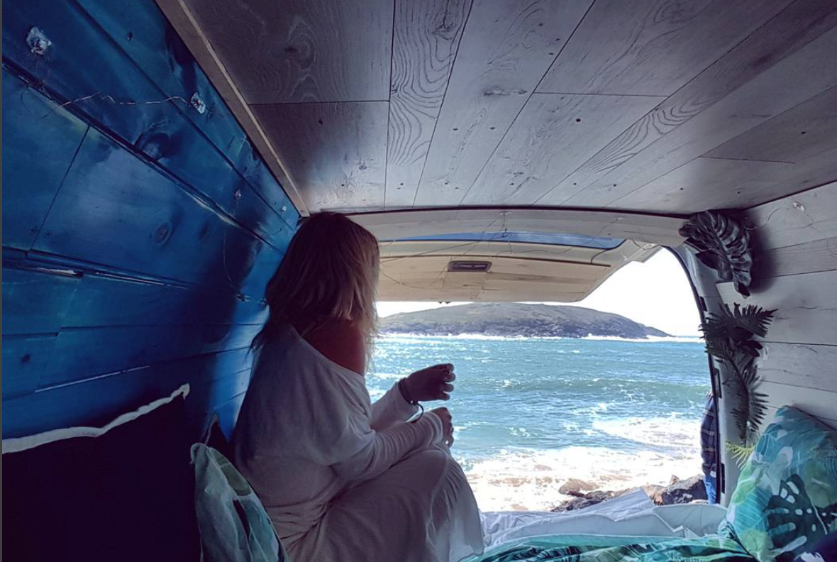 Van Life Australia - Belle Van Sea