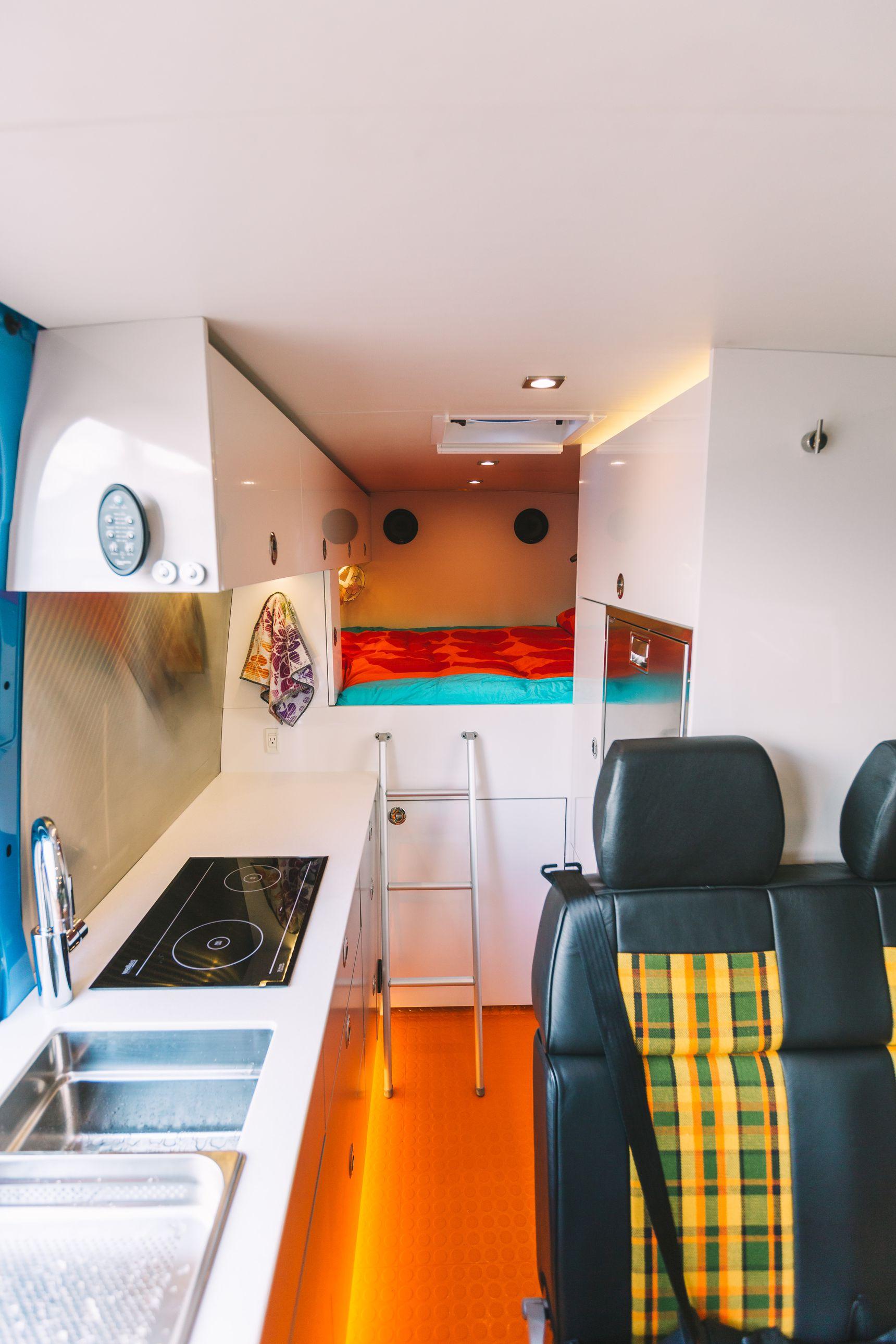 Off Grid home - inside living area