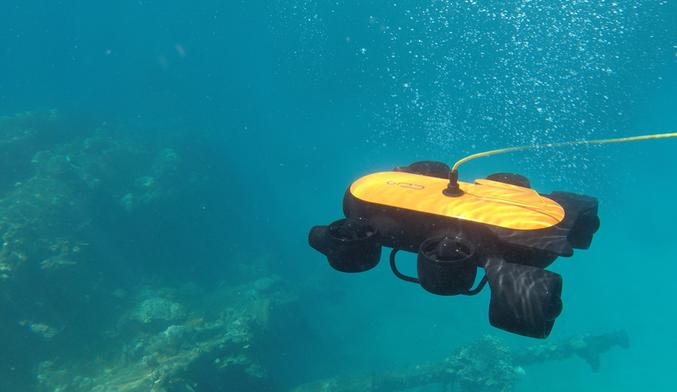 Titan Underwater Drone - Sea Shot