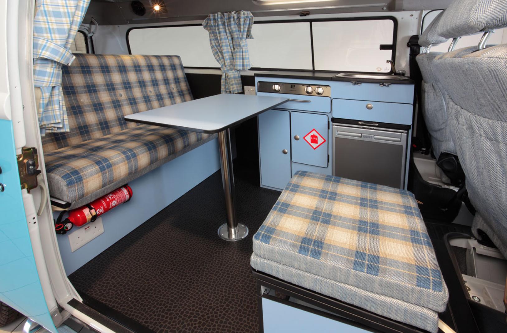 small campers - Retro interior