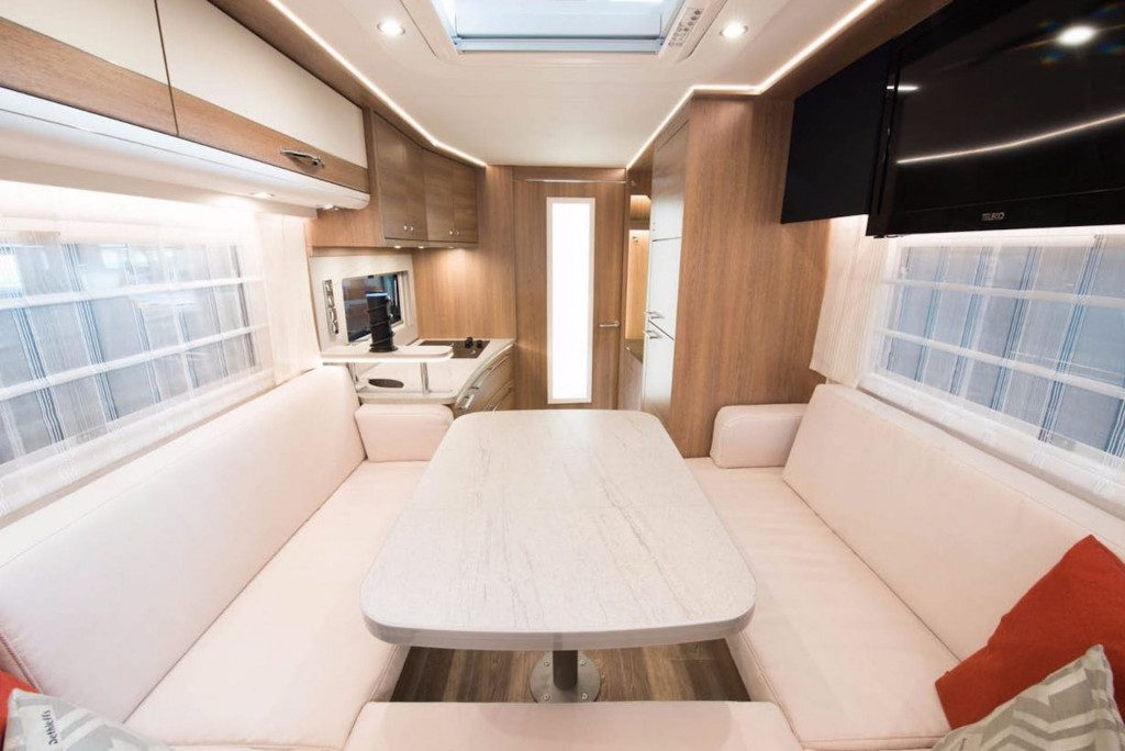 Top Eco Campers - Inside The solar motorhome