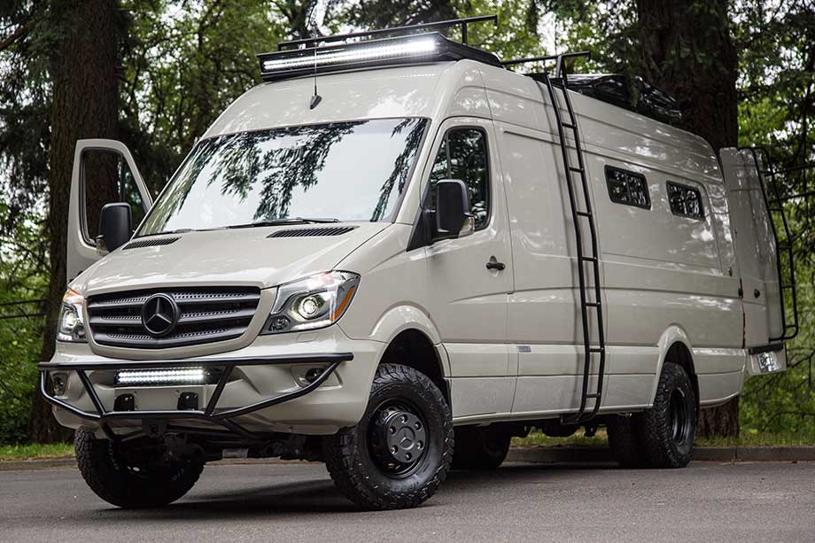 Mercedes Sprinter Conversions - 4x4 conversion