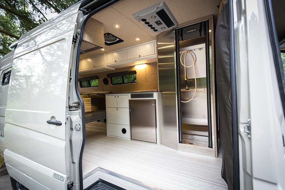 Best van to live in - Sprinter inside