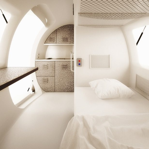 Top Tiny Homes - Inside the ecocapsule