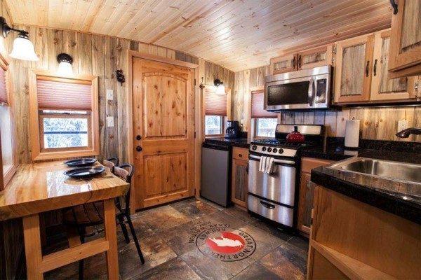 Top Tiny Homes - Inside The Train House