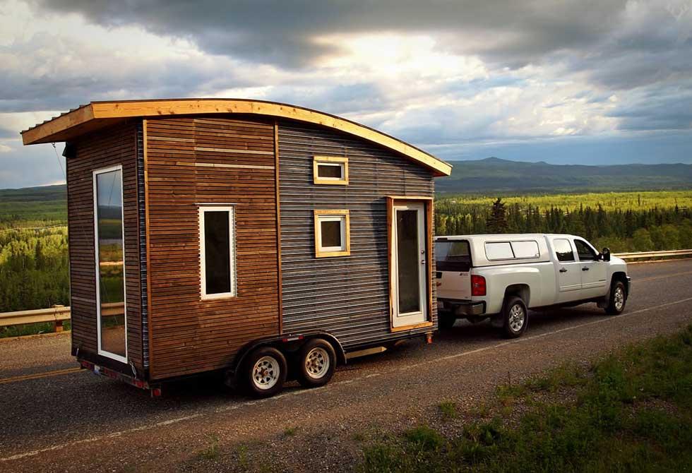 Tiny Eco House - The Leaf House