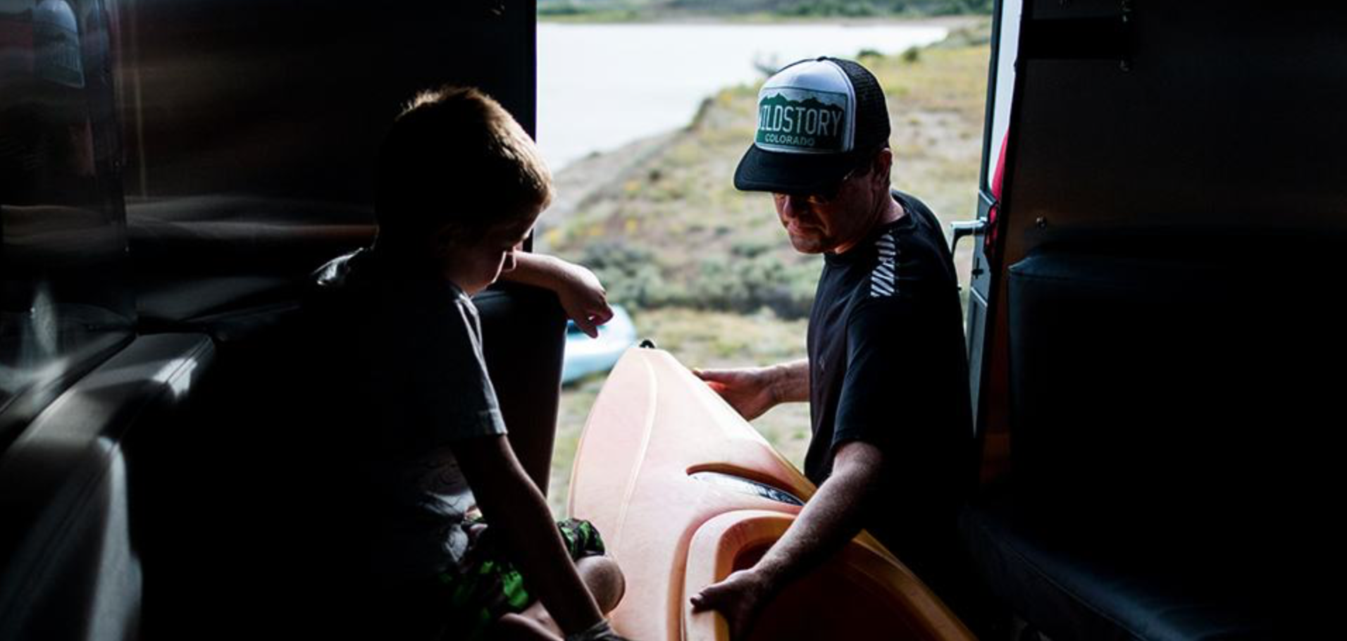 small travel trailers - kayak