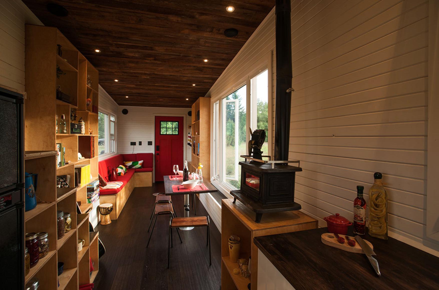 Top Tiny Homes - Inside the GreenMoxie Tiny House