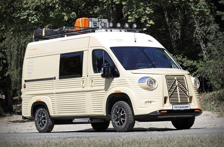 Best van to live in - Citroen Camper Van