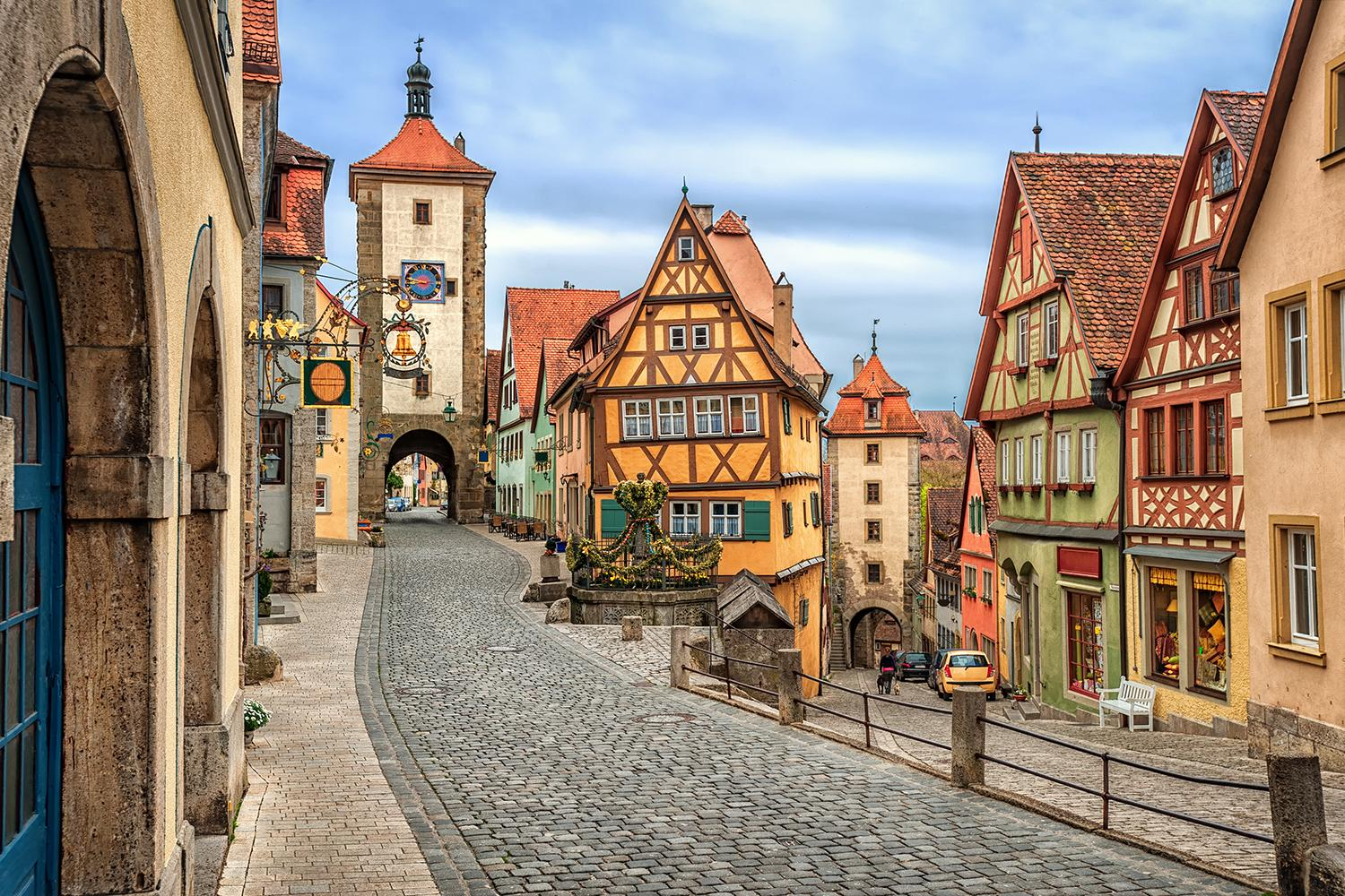 top road trips - Germany