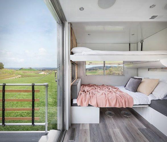 Tiny House - beds