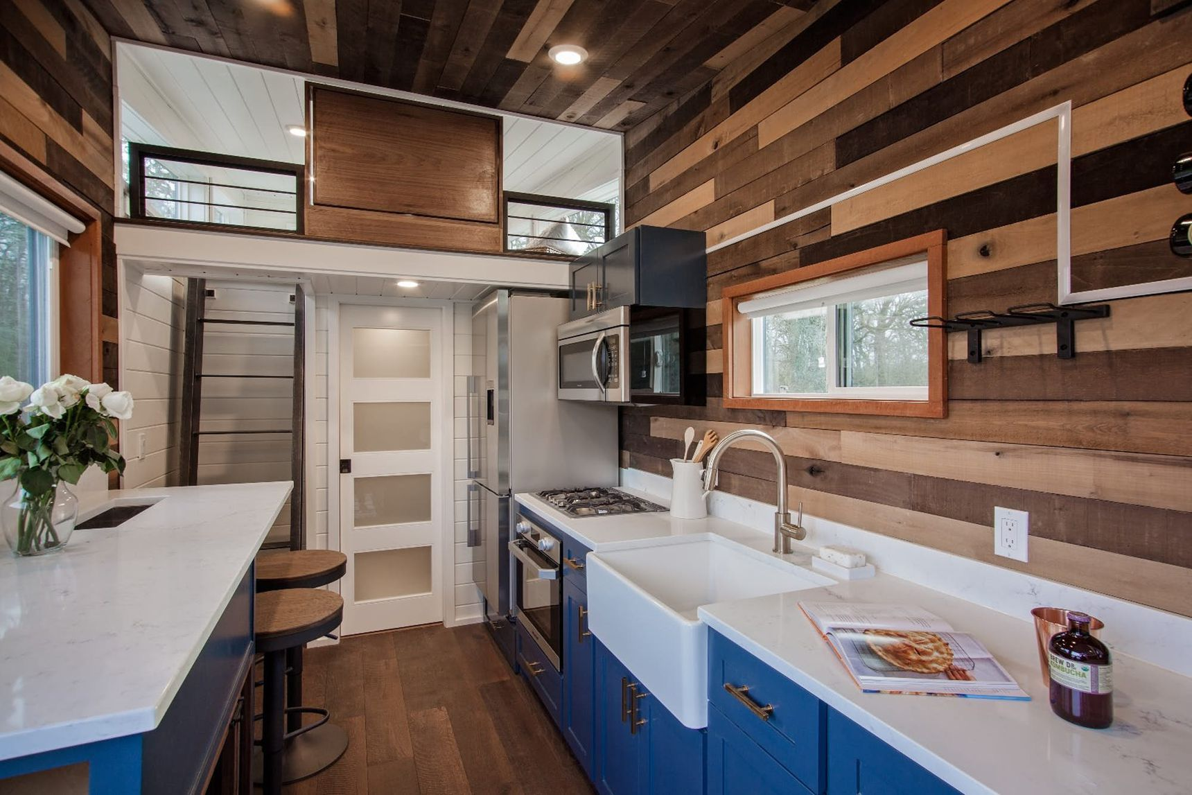 Top Tiny Homes - Breezeway Kitchen