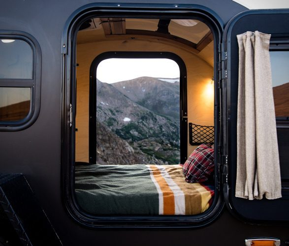 small travel trailers - Pika inside