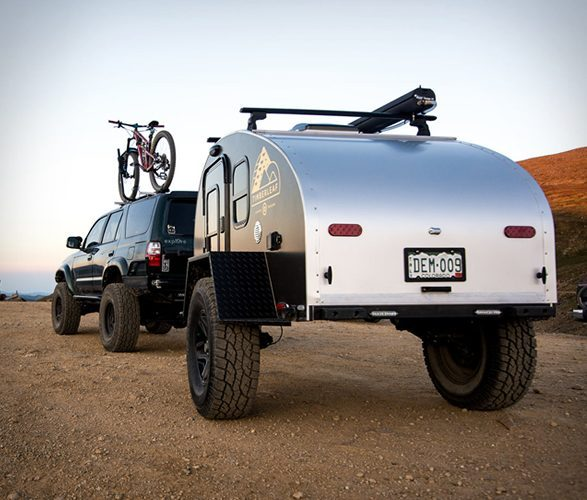 small travel trailers - Pika rear