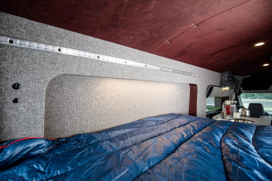 Ford Camper Conversion - Bed