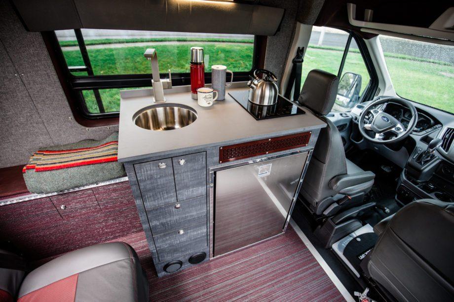 Ford Camper Conversion - Kitchen