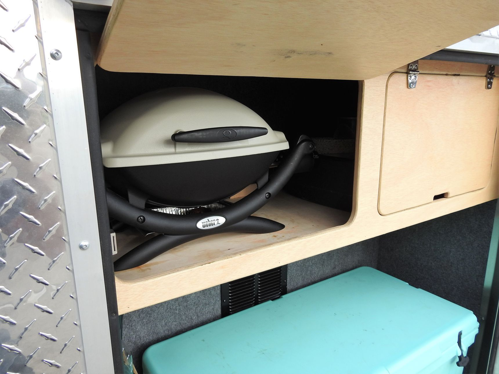 small travel trailers - burner cargo