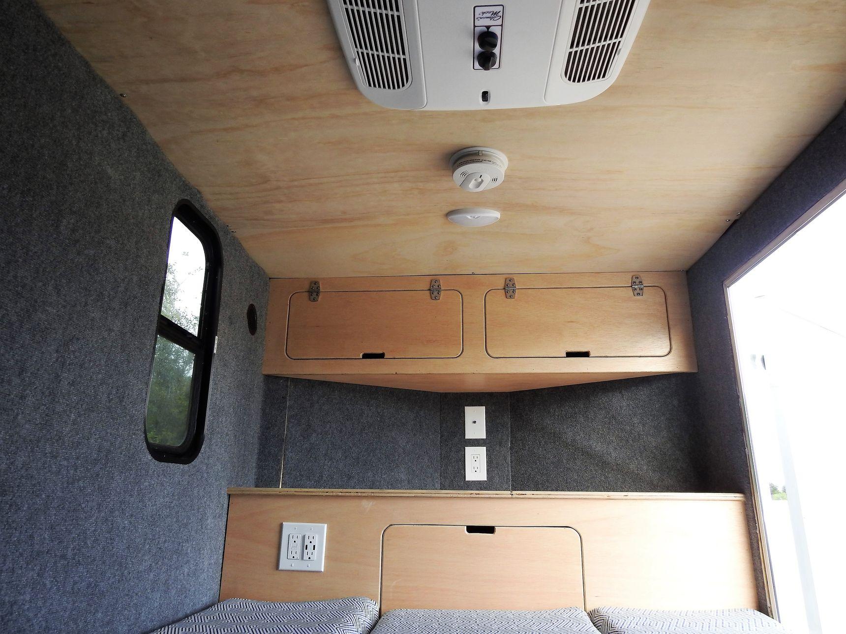 small travel trailers - trailer camper storage