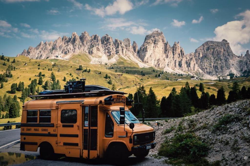 Best van to live in - School bus