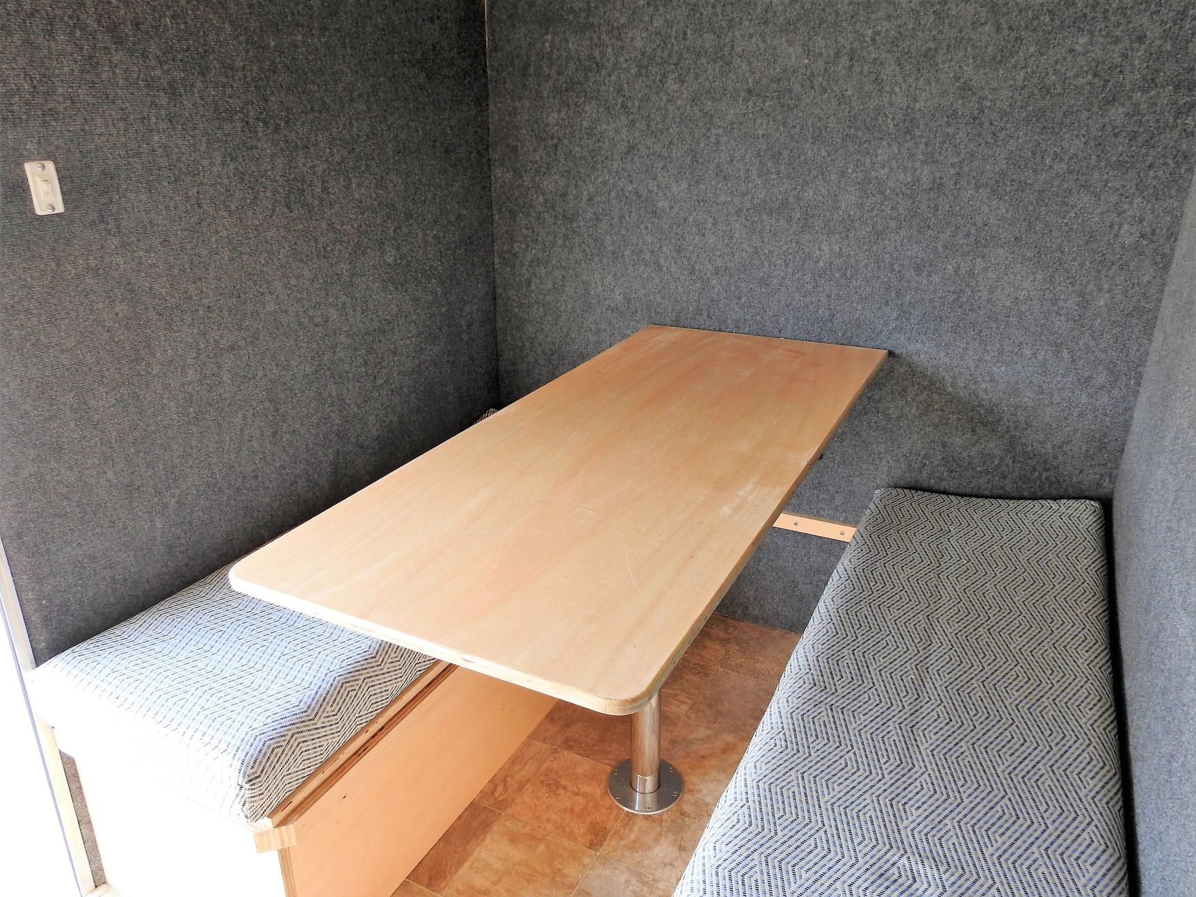 small travel trailers - Cargo Camper table