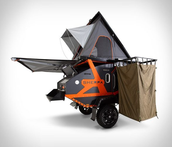 small travel trailers - Sherpa Trailer Exterior