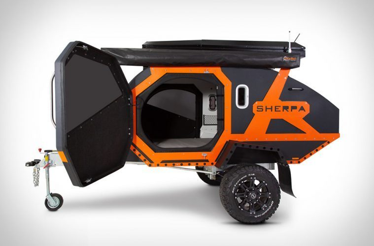 small travel trailers - sherpa trailer