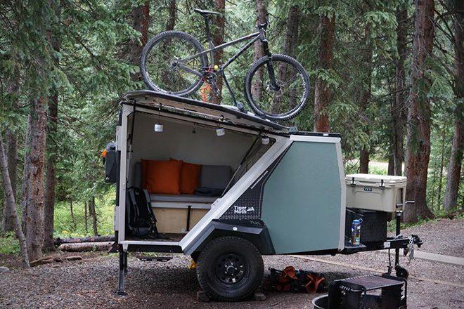 camper trailer - tiger moth