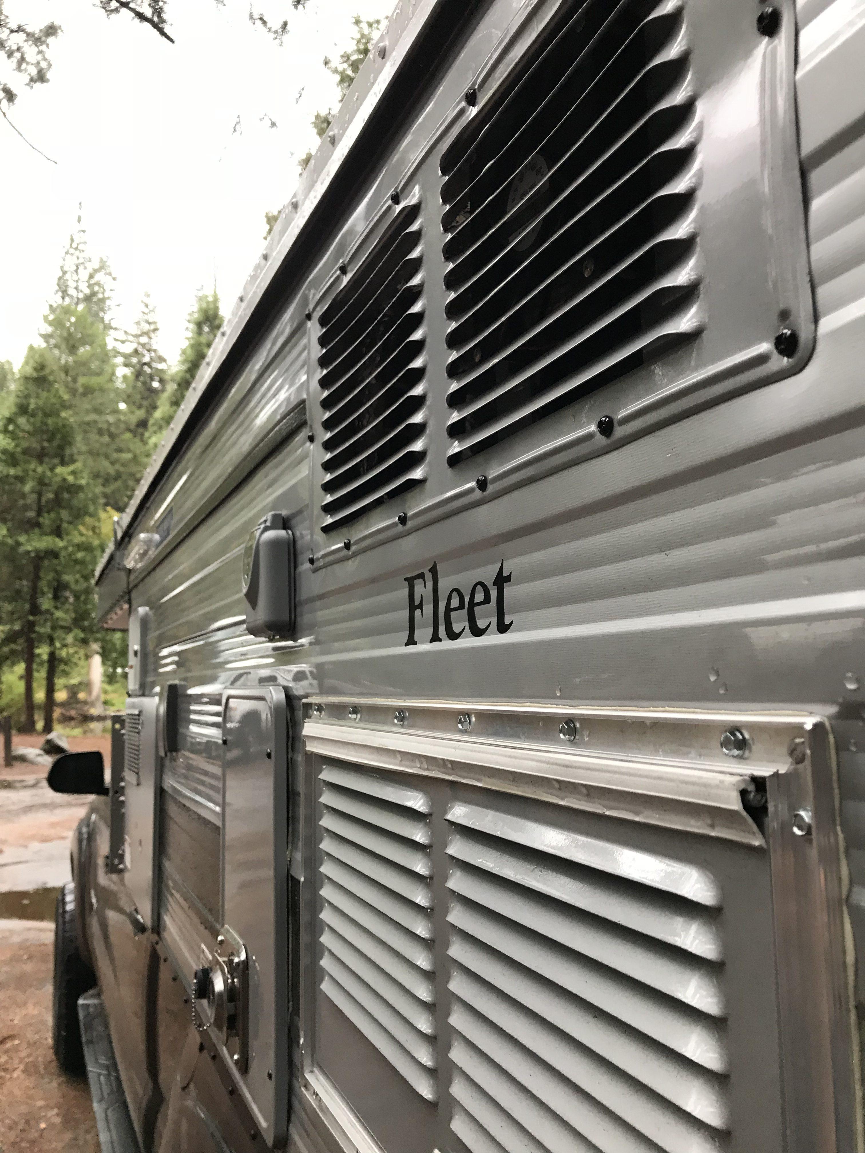 Four Wheel Campers - Fleet logo