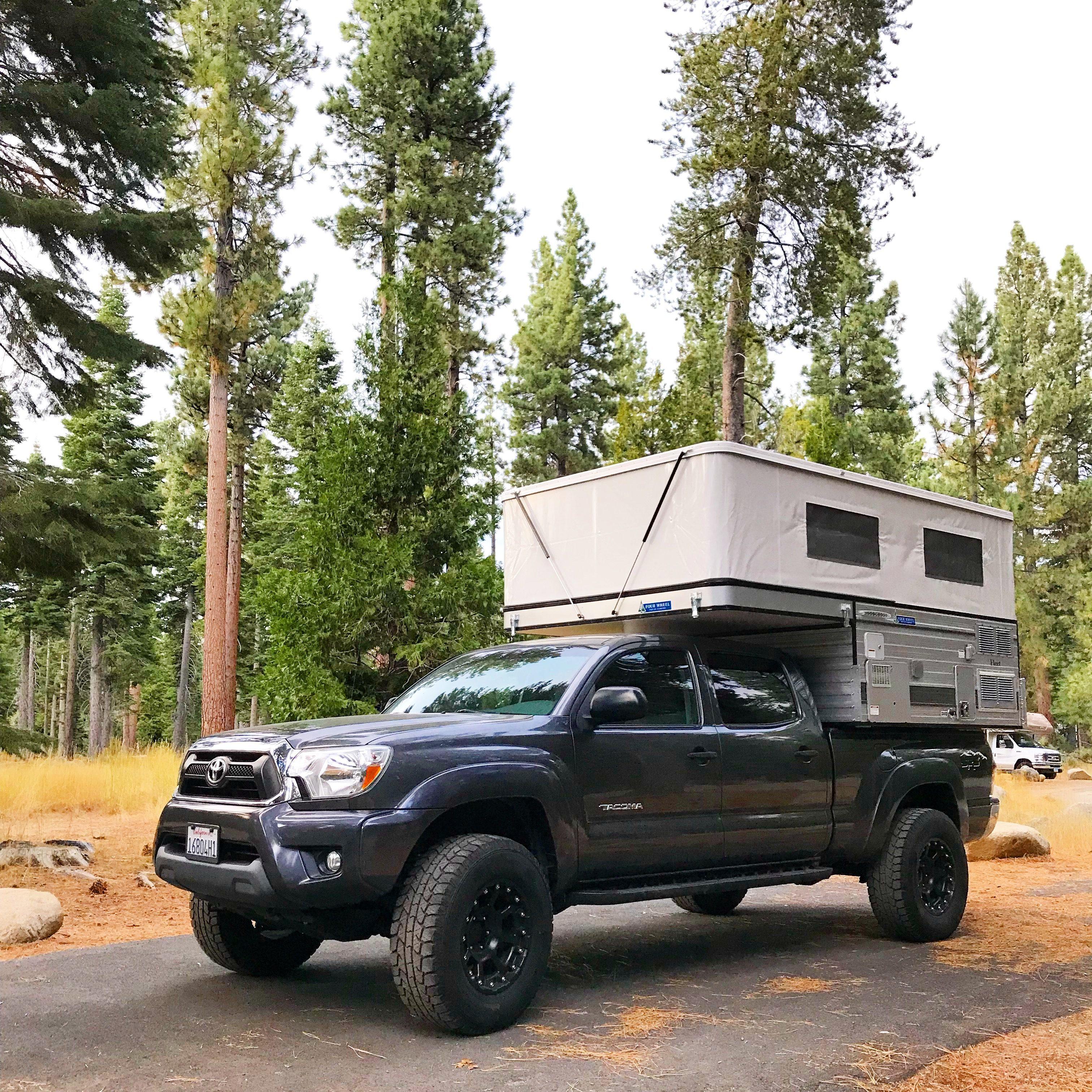 Four Wheel Campers - pop top