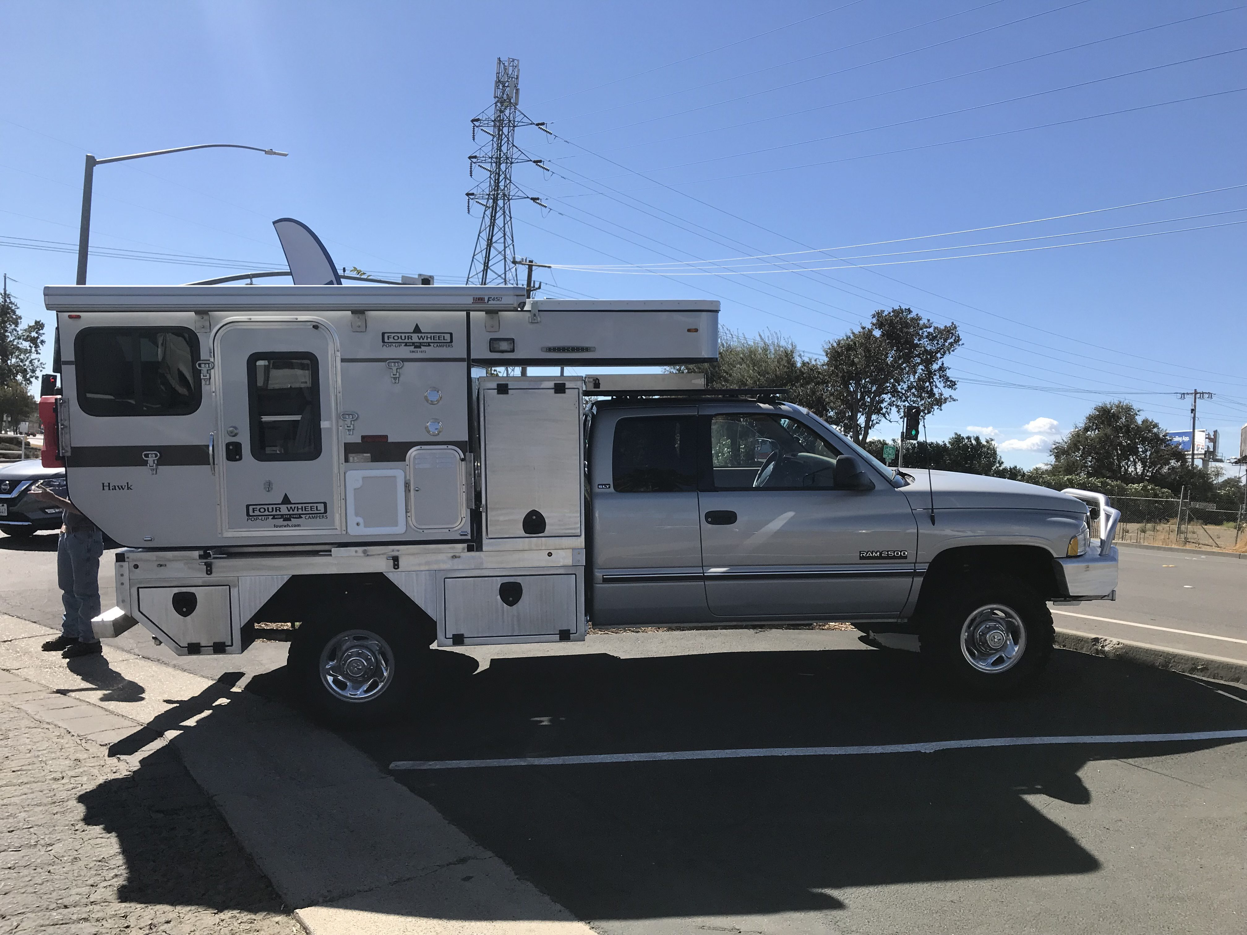 Four Wheel Campers - storage
