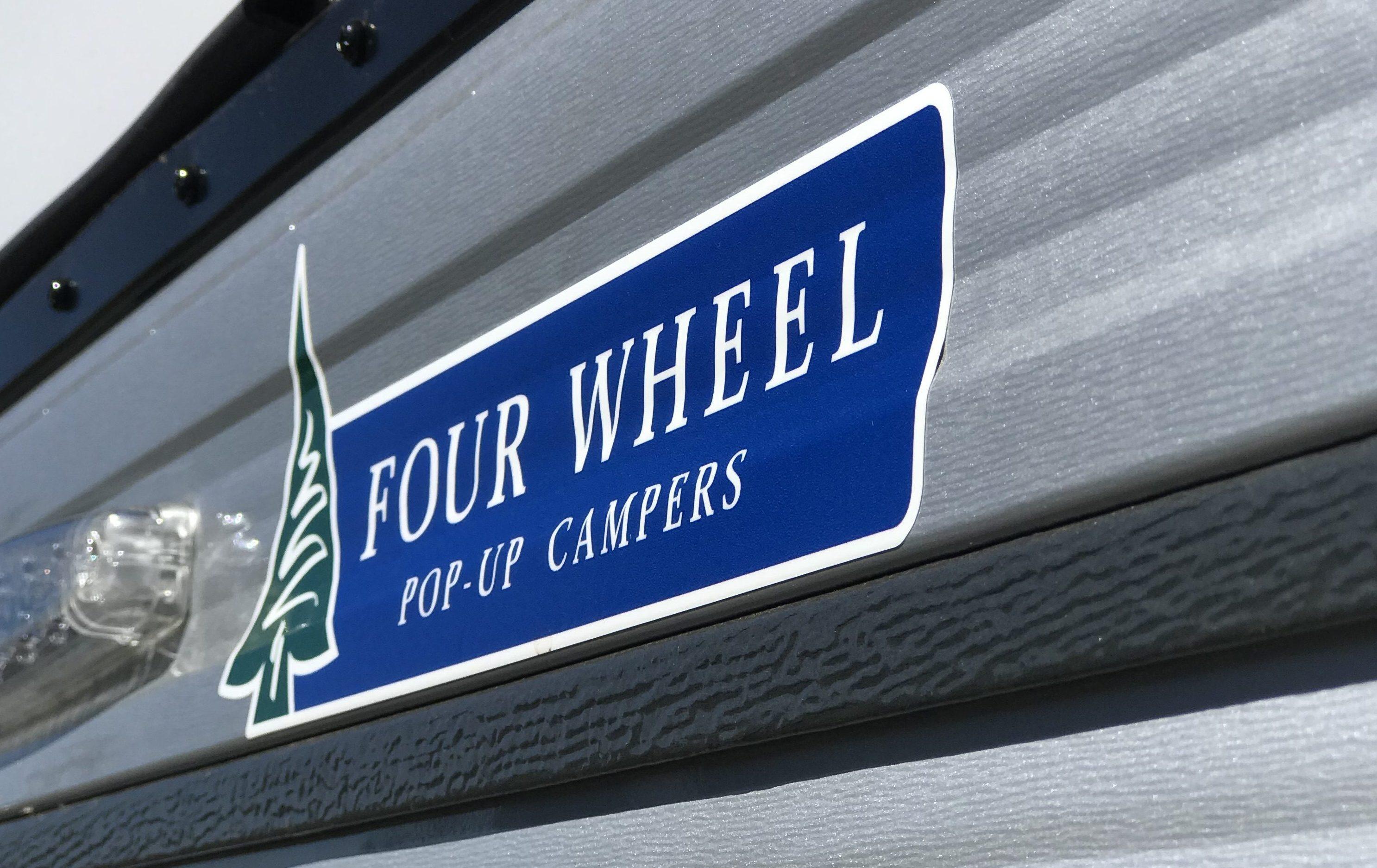 Four Wheel Campers - Four Wheel Logo Close